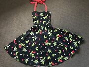 1950's Cherry Dress Springfield Lakes Ipswich City Preview