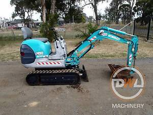 KOBELCO SK007 TIGHT ACCESS MINI EXCAVATOR BACKHOE BOBCAT CASE Austral Liverpool Area Preview