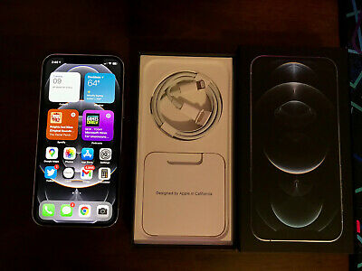 Apple iPhone 12 Pro - 256GB - Silver Unlocked