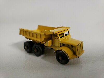 Vintage Lesney Matchbox #6 Euclid Dump Truck Dual Axle