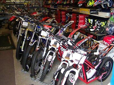 125 200 250 300 sherco Trials Road Bike GasGas Beta Scorpa TLR Oset 12.5 16