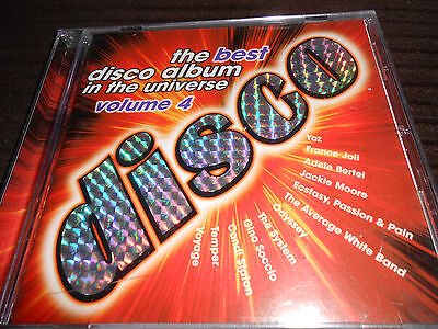 The Best Disco Album In The Universe Cd  Vol 4  Adele Bertei Candi Staton Voyage