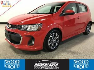 2017 Chevrolet Sonic LT Auto SPORT RS PACKAGE WITH TURBO ENGI...