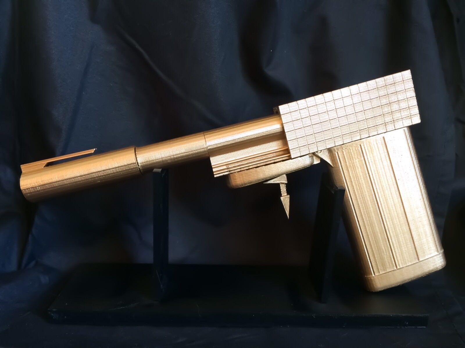 Golden Gun James Bond Cigarette Case Pen Lighter Replica Prop 007 Movie Prop