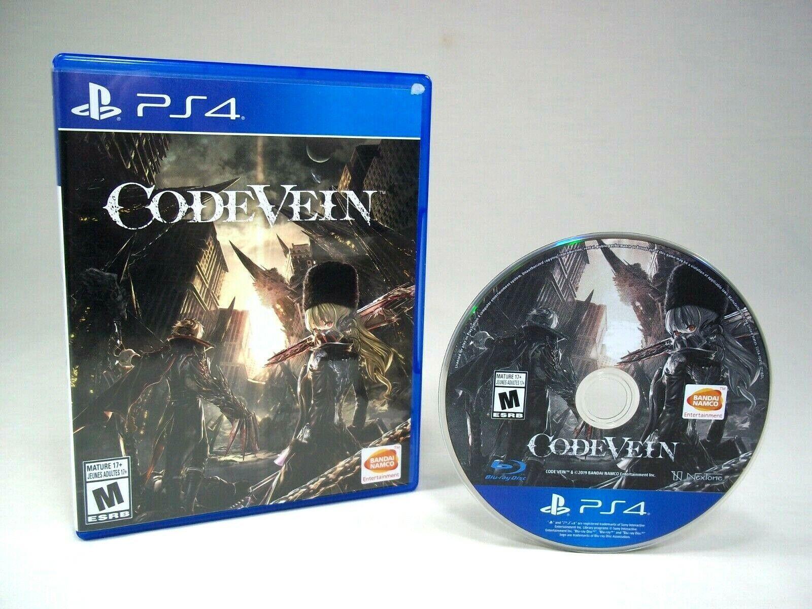 Code Vein Sony PlayStation 4, 2018 PS4 - $14.99