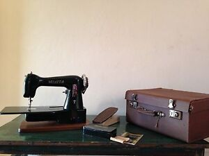 Vintage 50's Helvetia Sewing Machine. Stanmore Marrickville Area Preview