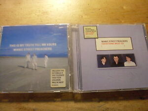 Manic-Street-Preachers-2-CD-Alben-Everything-Must-Go-This-is-my-Truth-tell