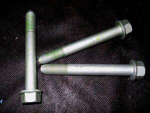 M12 12MM X 1.25 EXTRA FINE X 90MM THREAD FLANGE BOLT LOT OF 3 BOLTS