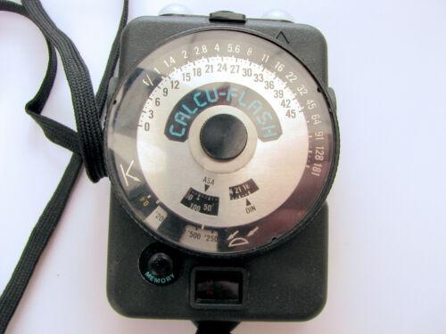 Calcu-Flash flash meter, excellent condition.