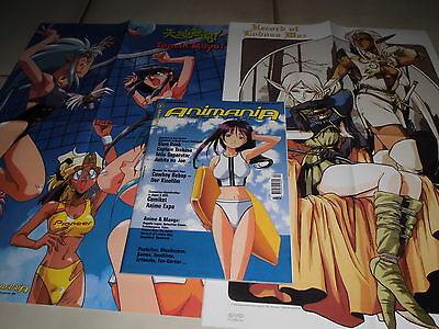 15 : ANIMANIA 42 ( November / Dezember 2001 ) + 2 Poster , Manga , Anime , Games