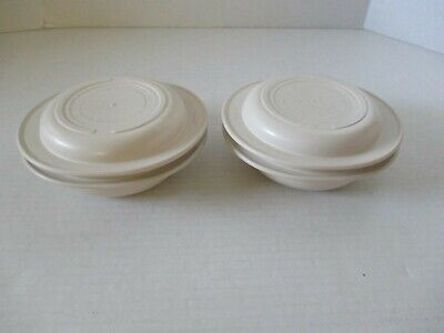 *2* TUPPERWARE ULTRA 21 OVEN MICROWAVE CASSEROLE DISH BOWL 1 & 2 CUP 1748 1749