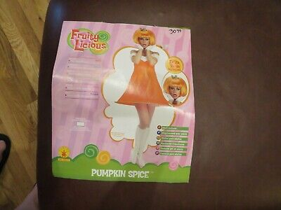 Pumpkin Spice Costume (Nice Womens Pumpkin Spice Rubie's Halloween Costume, Size Up To Size)