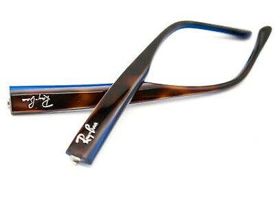 Ray Ban Eyeglasses Arms Temples Replacement RB 5114 5064 Tortoise/Blue 135 (Eyeglass Temples Replacement)