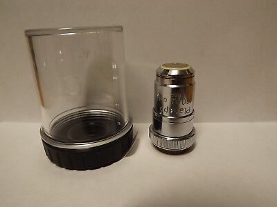Zeiss Planapo 100x 1.3 Oel 160mm Microscope Objective Plan Apo