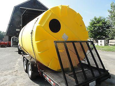 5000 Gallon Poly Water Storage Tanks