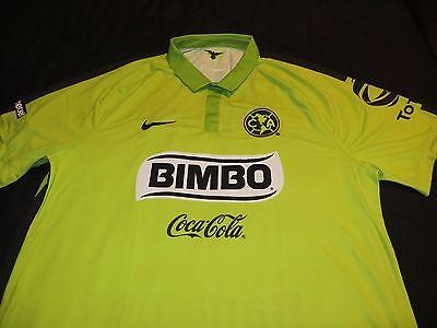 2015 100% Authentic NIKE Club America Mexico Soccer Jersey Bimbo Corona XXL image