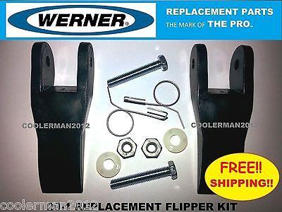 Werner Replacement Flipper Parts Kit 29-1 Fiberglass Aluminum Extension Ladder