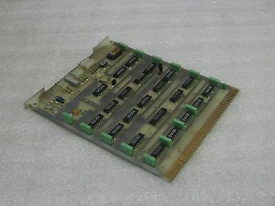 Sharnoa CNC Control PC Board, SE176L, Used, Warranty