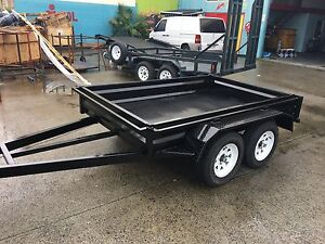 NEW AUSSIE MADE 8X5 TANDEM TRAILER WITH NEW TYRES & RIMS Armidale Region Preview