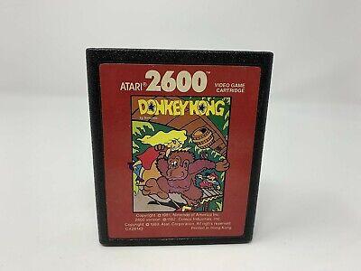 Donkey Kong Atari Corporation - Atari 2600 - Game Cart only - VINTAGE