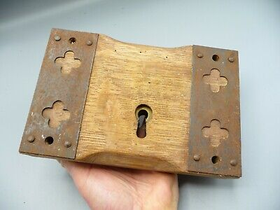 3 x DOOR HASP AND STAPLE SET WIRE TYPE BLACK JAPANNED 75MM 3 INCHOneStopDIY
