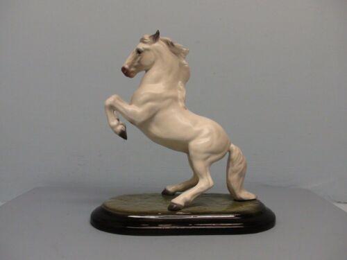 San Dimas Hagen Renaker DW Lipizzan Horse w/ Pink Nose