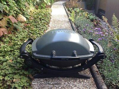 Weber Elektrogrill Q 140 : Weber grill elektrogrill q dunkelgrau