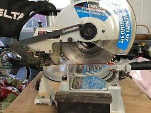 """10"""" Compound Mitre saw with stand"""