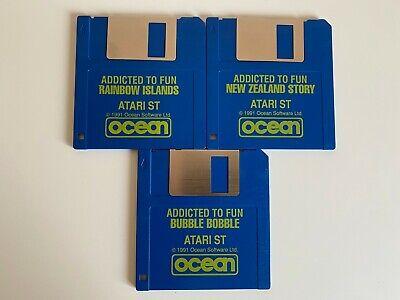 Rare Atari ST Game - Addicted to Fun  - 3 Discs Only - VGC - Free P&P