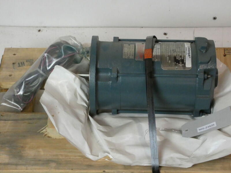 1HP Baldor Motor, HB56, 1800RPM, TENV, 3PH, 230/460V, B397620 - NEW Surplus!