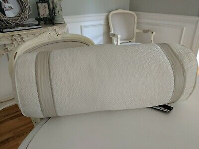 """Hotel Collection 8"""" x 20"""" Neckroll Decorative Pillow  Macy's $135"""