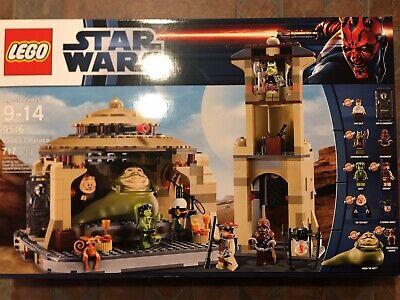 Star Wars Lego JABBA'S PALACE 9516 minifigs Han Boushh Oola Fortuna Carbonite
