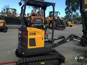 Volvo ECR18E Excavator Smeaton Grange Camden Area Preview