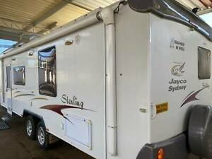 ID2046 Jayco 25'Sterling 2 Slide-outs Solar Annex 12Rego Free delivery Cowra Cowra Area Preview