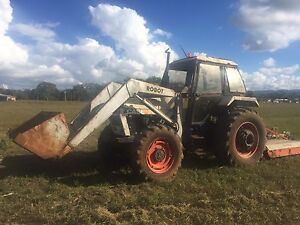 Case tractor and slasher front end loader Mullumbimby Byron Area Preview