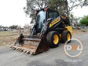 2013 NEW HOLLAND L225 HIGH FLOW A/C CABIN SKID STEER BOBCAT CATT Austral Liverpool Area Preview
