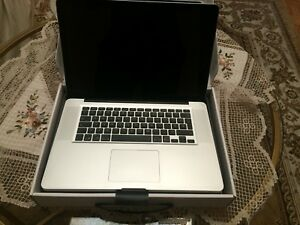 MacBook Pro 2.2 GHz Intel core i7  15.4 »