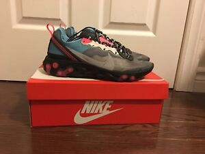Nike React 87's Blue Chill Solar Red