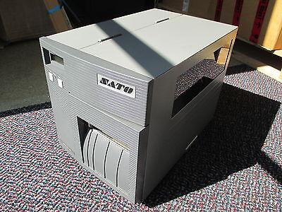 SATO CL408E Direct Thermal Transfer Barcode Label Printer Parallel REWINDER