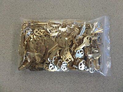 Esp Kw1 Kwikset Brass Key Blank Bag Of 250