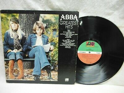 "ABBA ""GREATEST HITS"" 1976 LP RECORD~ATLANTIC SD 19114"
