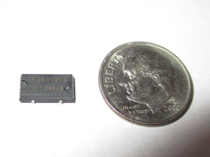 20.0000 Mhz CRYSTAL OSCILLATOR 3.3V    20  PCS. NOS
