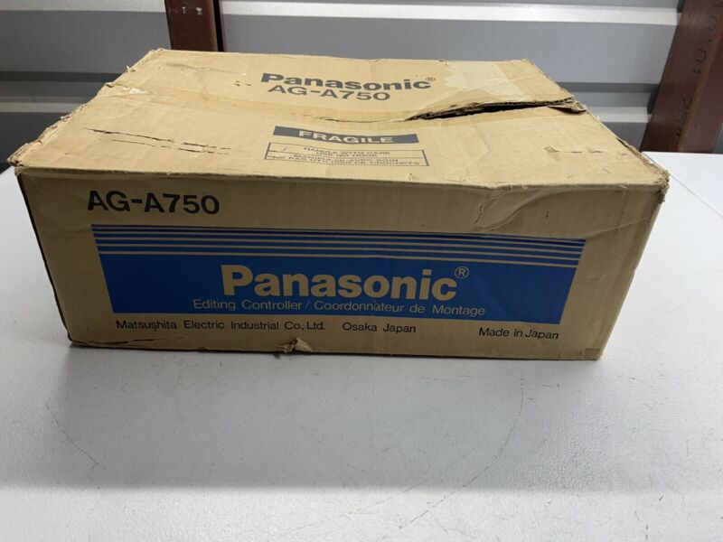 Vintage PANASONIC AG-A750 Video Editing Controller Please Read