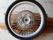 Suzuki DR650 front wheel Dampier Peninsula Broome City Preview