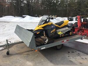2008 Skidoo MXZ 800r with Trailer- Will also sell separately.
