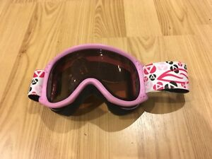 Pink youth kids goggles