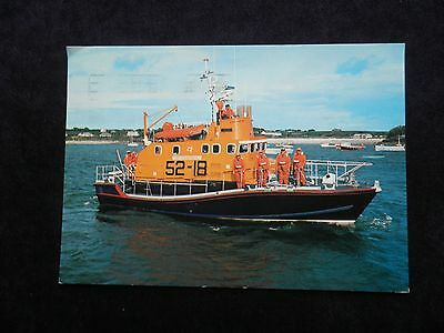 """1980s POSTCARD OF ST. MARY'S, ISLES OF SCILLY, ARUN LIFEBOAT THE """"ROBERT EDGAR"""""""
