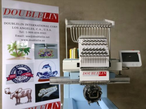 Commercial Embroidery Machine, Compact,NEW, Single head, 15 needles, New Style