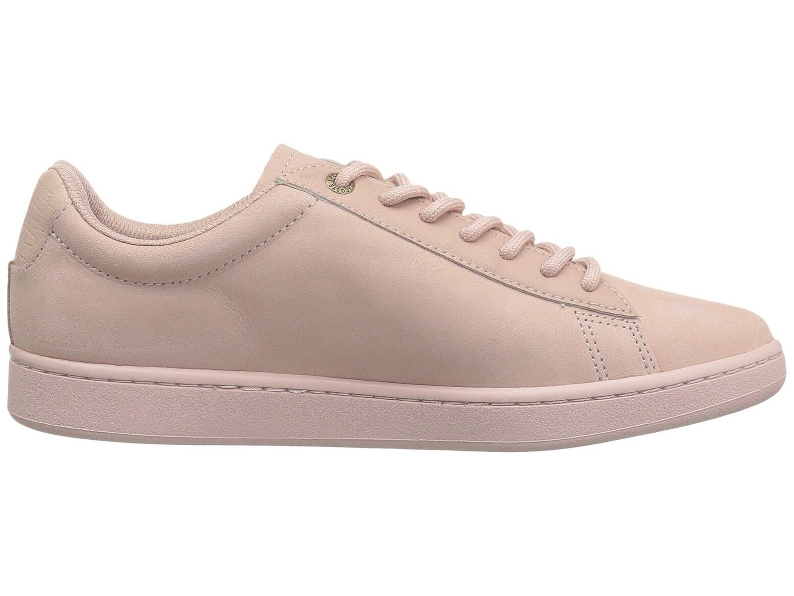 Lacoste Carnaby Evo Men's Casual Croc Logo Pink Leather  Loafer Shoes Sneakers  1