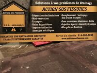 Action sos fissures